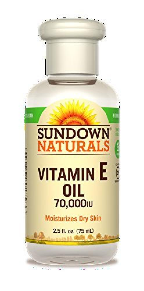 Sundown Naturals Pure Vitamin E Oil 70000 Iu 75ml