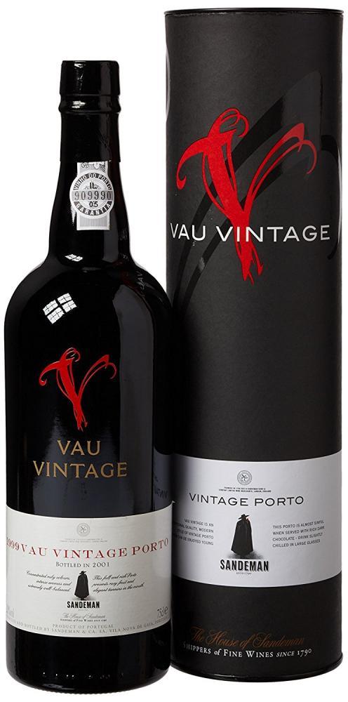 Sandeman Vau Vintage Port 1999 Wine 75 cl