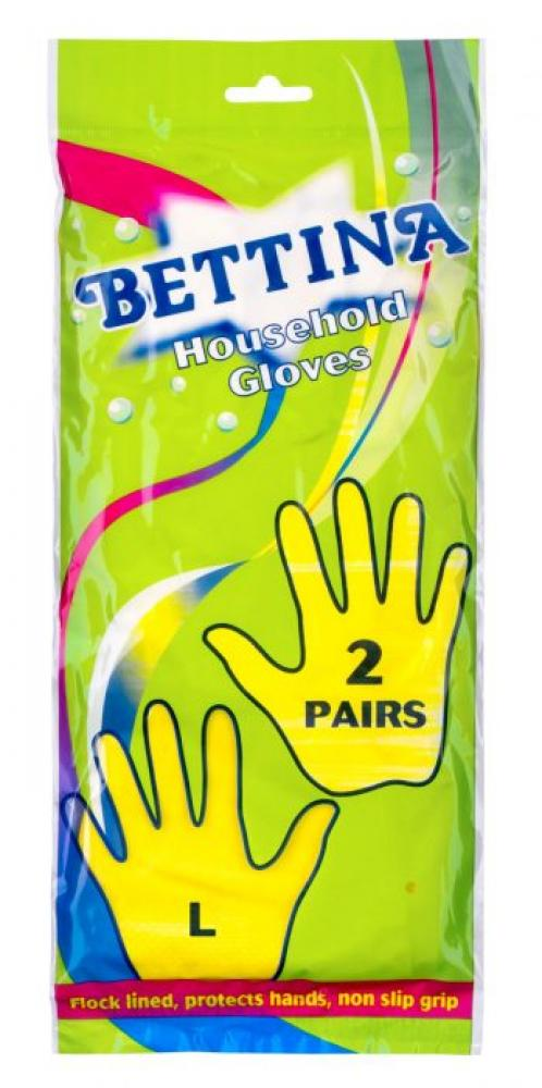 Bettina 2 Pairs Household Gloves Large