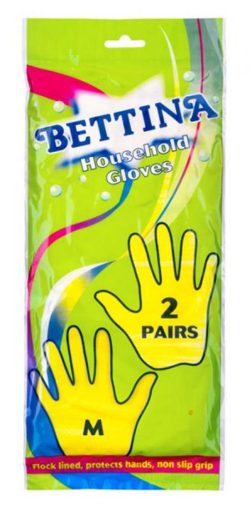 Bettina 2 Pairs Household Gloves Medium
