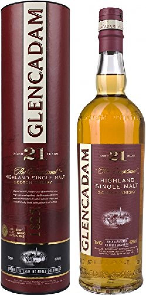 Glencadam 21 Year Old Single Malt Scotch Whisky 70 cl