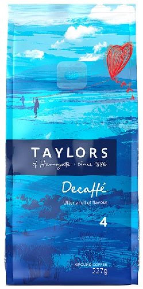 Taylors Of Harrogate Decaffe Ground Coffee 227 G
