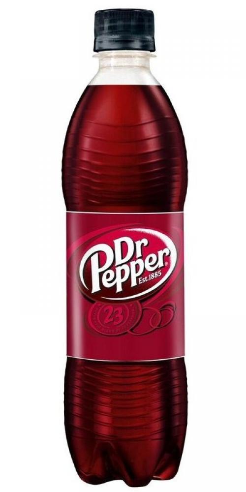 Dr Pepper Bottle 500ml