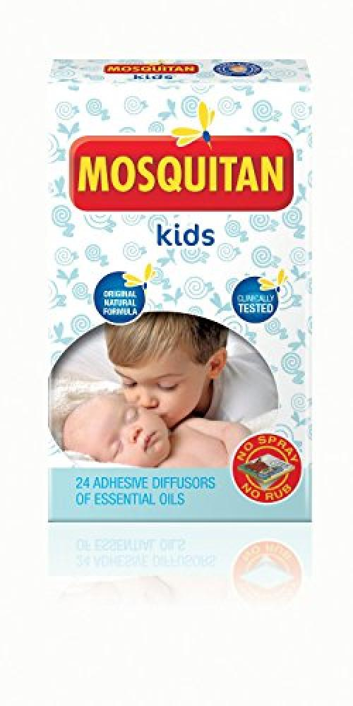 Mosquitan Mosquito Patches Deet Free Perfect for Kids pack of 24