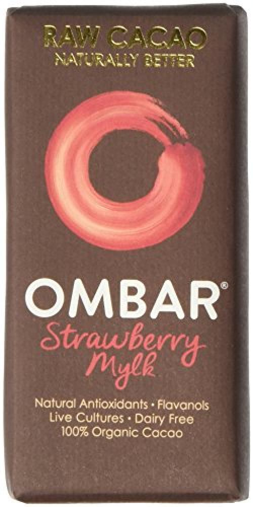 Ombar Strawberries and Cream Bar 35 g