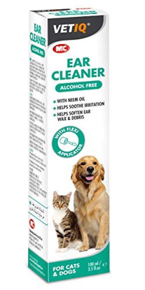 VetIQ Ear Cleaner for Dog and Cat 100ml