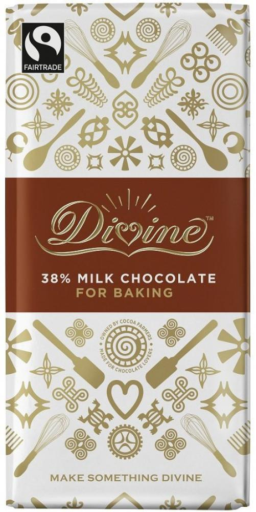 Divine 38 Percent Milk Chocolate 200g