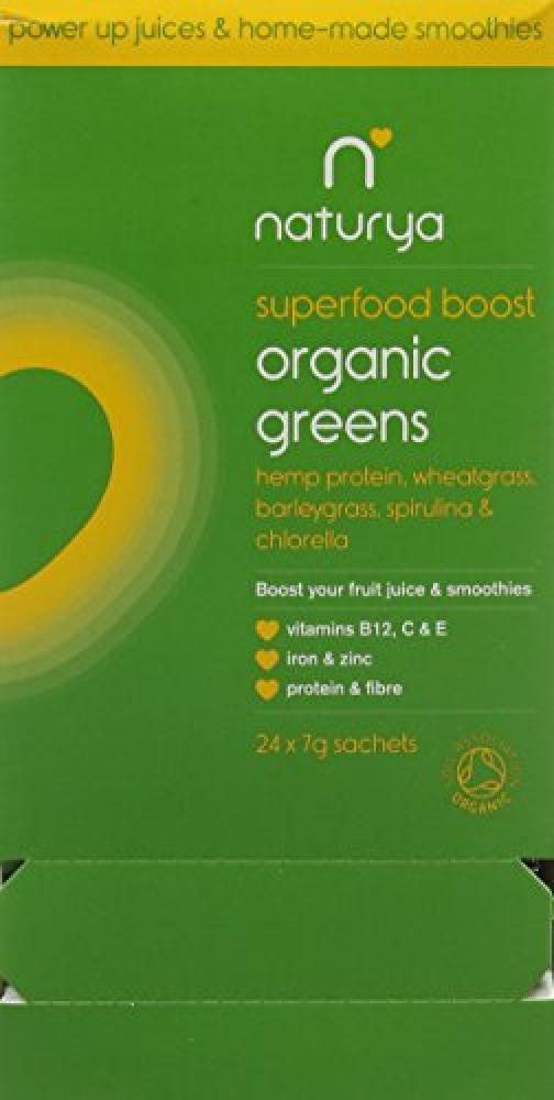 Naturya Organic Greens Blend Sachets 24 x 7g