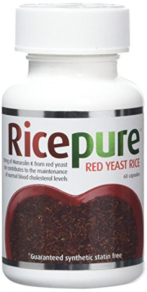 RicePure Red Rice Yeast Capsules Pack of 60