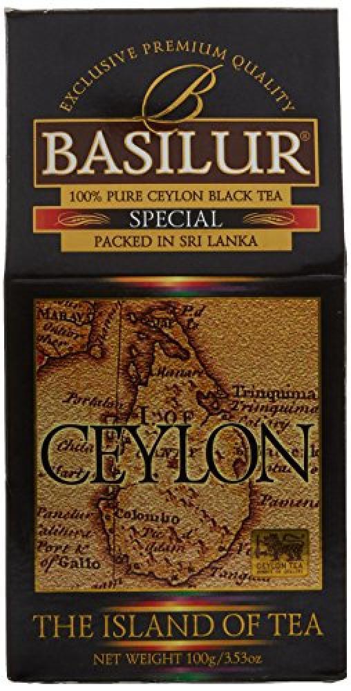 Basilur The Island of Tea Pure Ceylon Black Tea Loose 100g