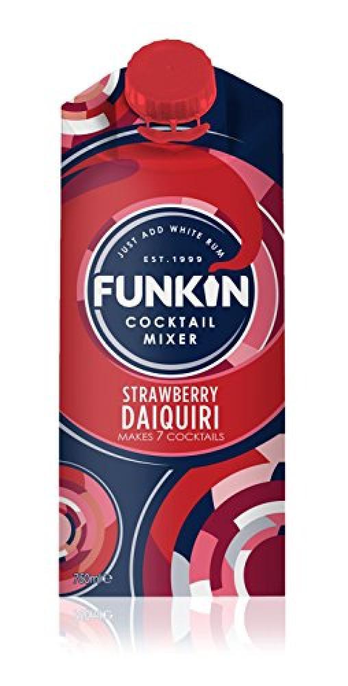 Funkin Strawberry Daiquiri Cocktail Mixer 750 ml
