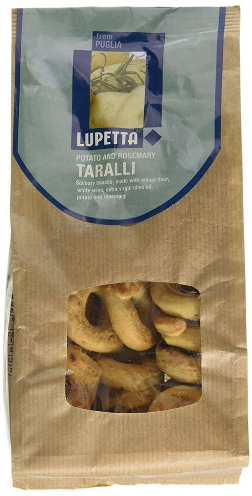 Lupetta Potato and Rosemary Taralli 250g