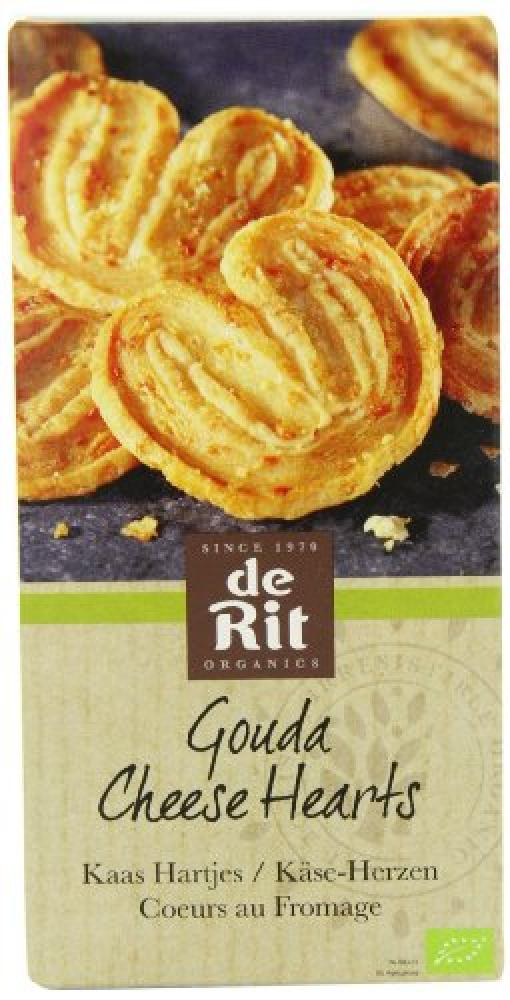 De Rit Gouda Cheese Hearts 100 g