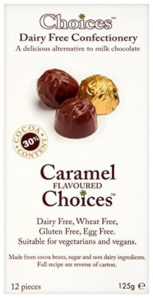 Celtic Chocolates Caramel Flavoured Choices 125g