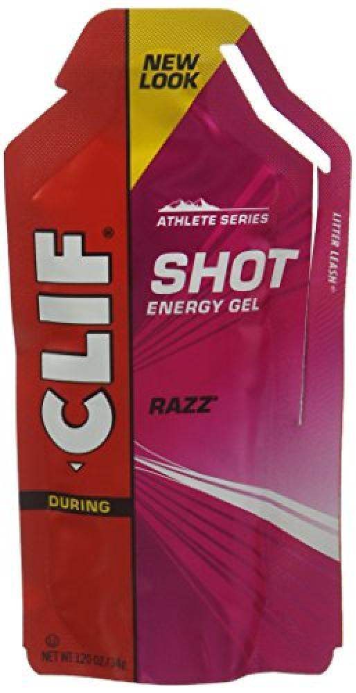 Clif Bar Shot Gel in Razz Flavour 34 g