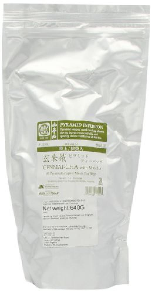 FURTHER REDUCTION  Yamamotoyama Genmaicha Green Tea with Roasted Brown Rice Pyramid Bags (80 Bags)