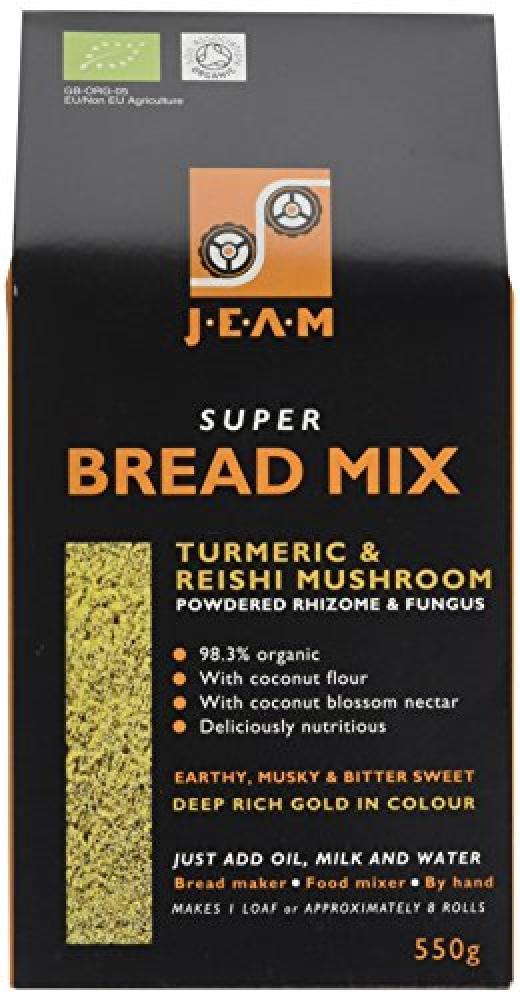 Jeam Super Bread Mix Turmeric And Reishi Mushroom 550g
