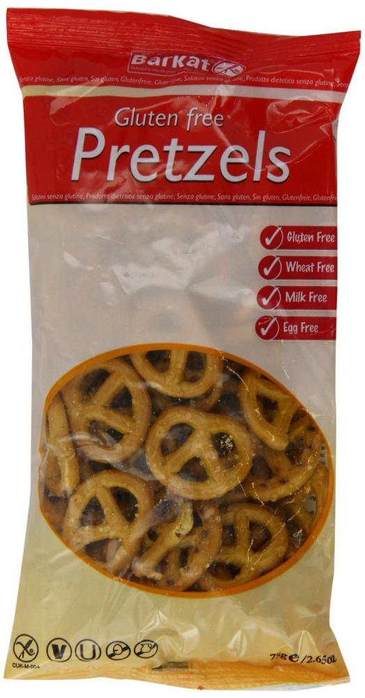 Barkat Gluten-Free Pretzels 75g