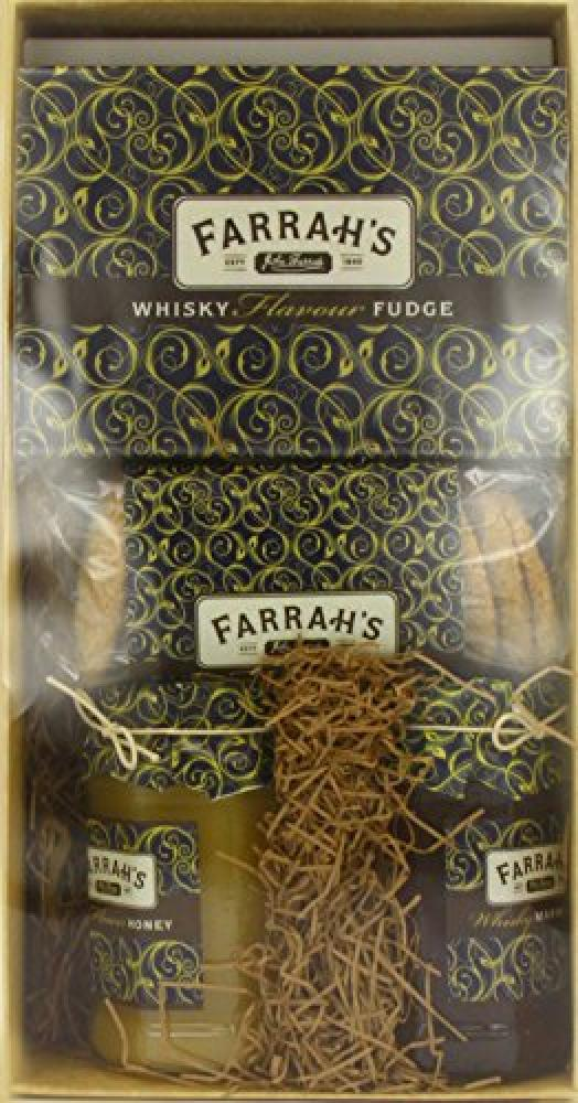 Farrahs Of Harrogate Whisky and Honey Gift Pack
