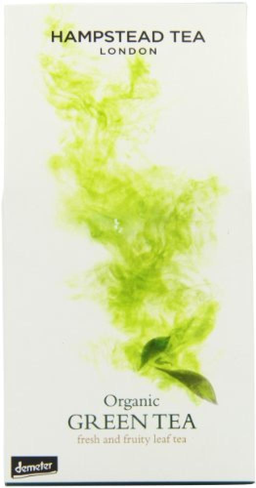 Hampstead Tea Organic Green Leaf Tea 100g