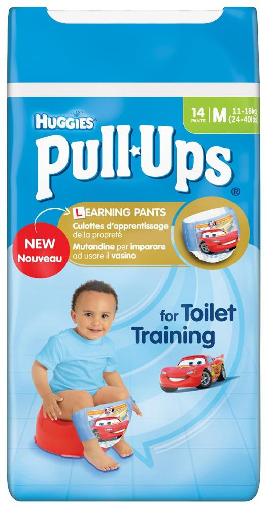 Huggies Pull Ups Boys Day Time Pants Convenience Pack Medium 14 Pants