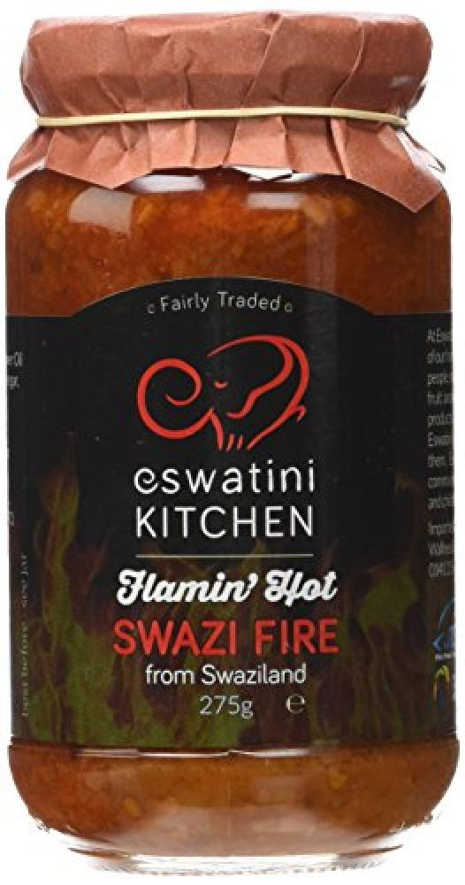 Eswatini Kitchen Flamin Hot Swazi Fire Sauce 275 g