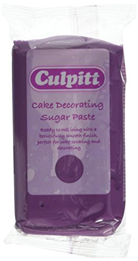 Culpitt Purple Cake Decorating Edible Sugar Paste 250g