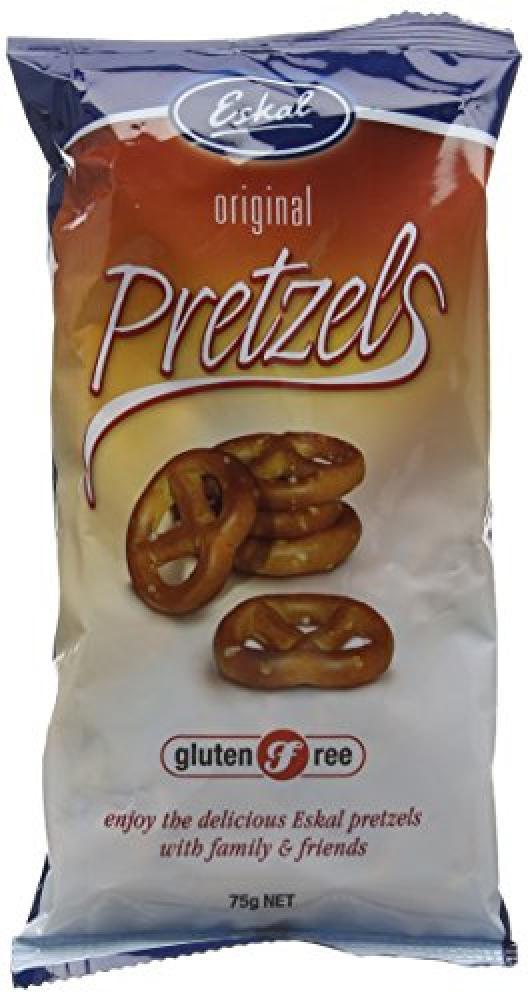 Eskal Gluten Free Pretzels 75g