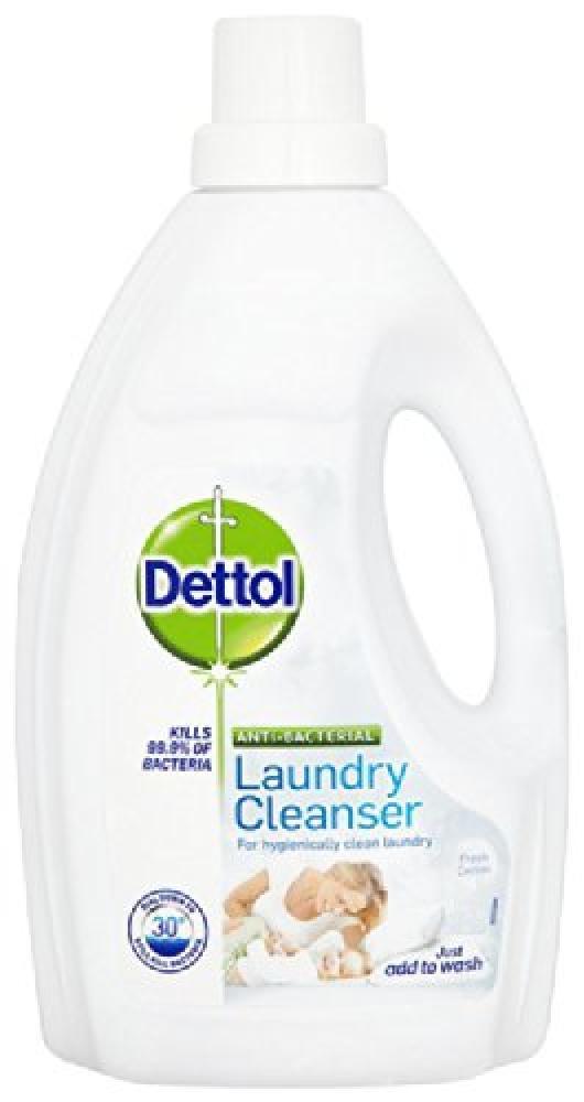 Dettol Antibacterial Laundry Cleanser Fresh Cotton 1.5L