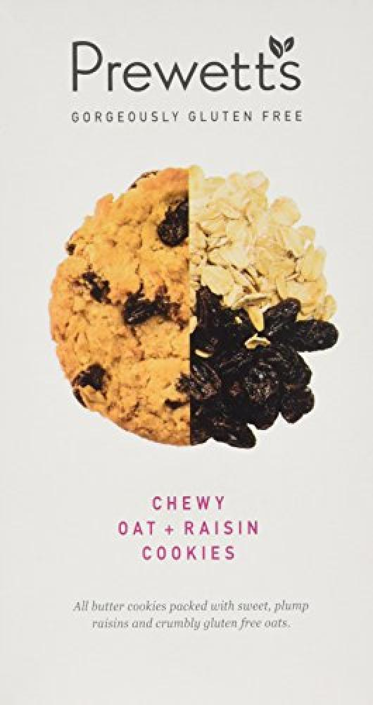 Prewetts Chewy Oat and Raisin Cookies 150g