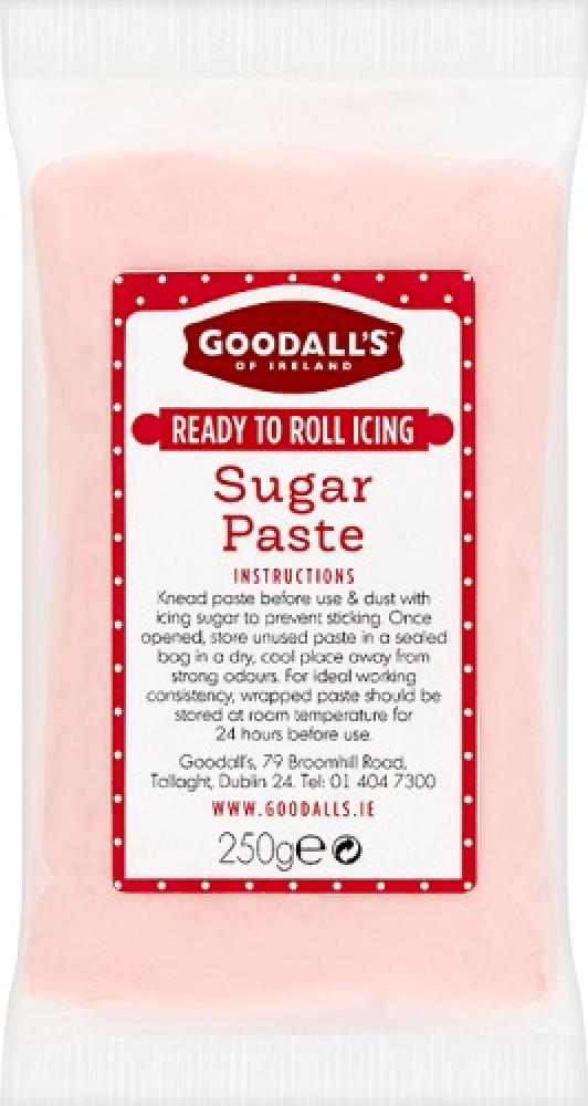 Goodalls Ready To Roll Icing - Pink Sugar Paste 250g
