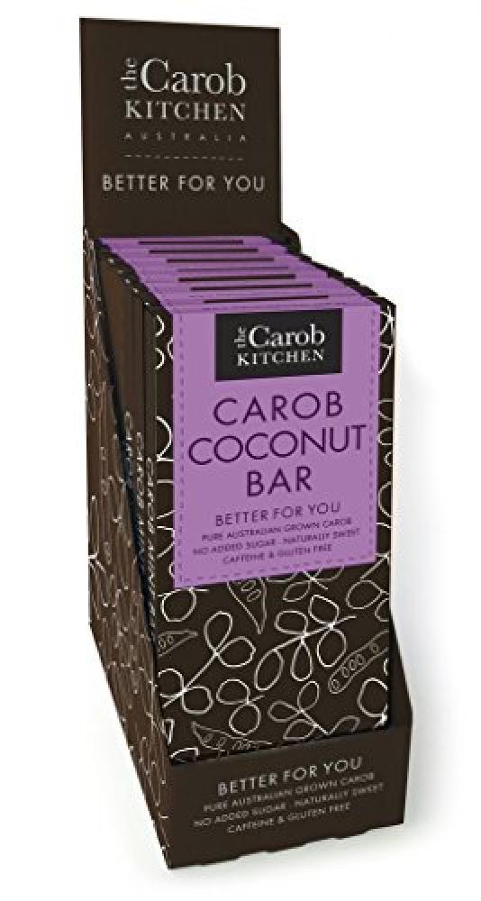 The Carob Kitchen Carob Coconut Bar 80g