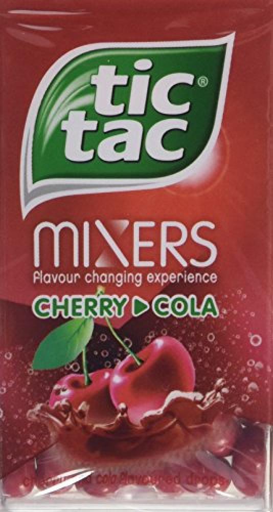 Tic Tac Mixers Cherry Cola 49g