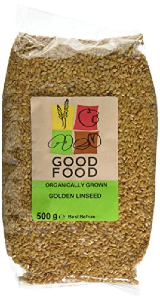 Good Food Organically Grown Golden Linseed 500g