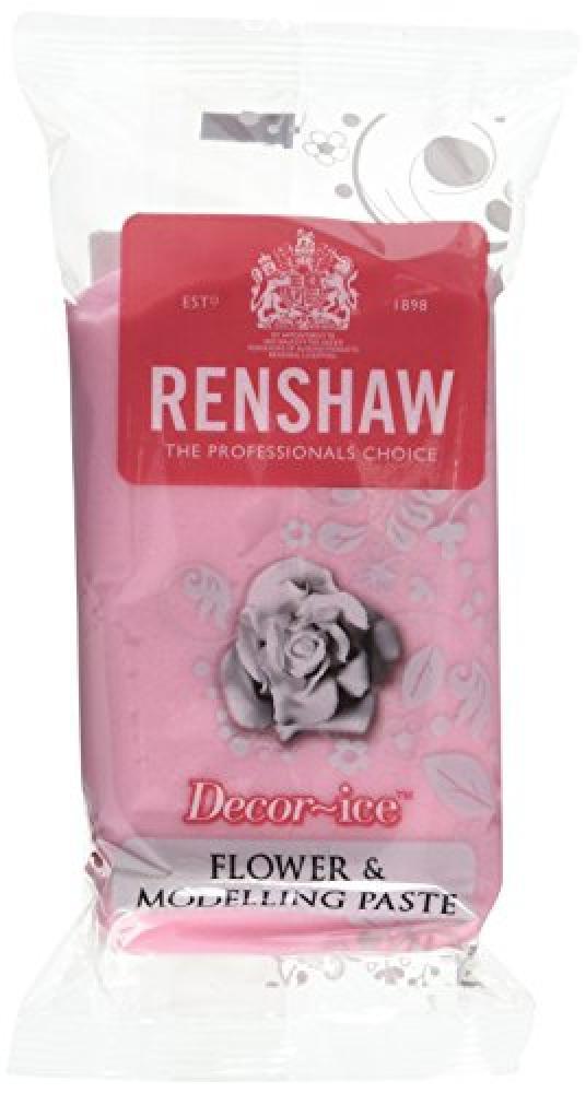 Renshaw Edible Rose Pink Flower and Modelling Paste 250g