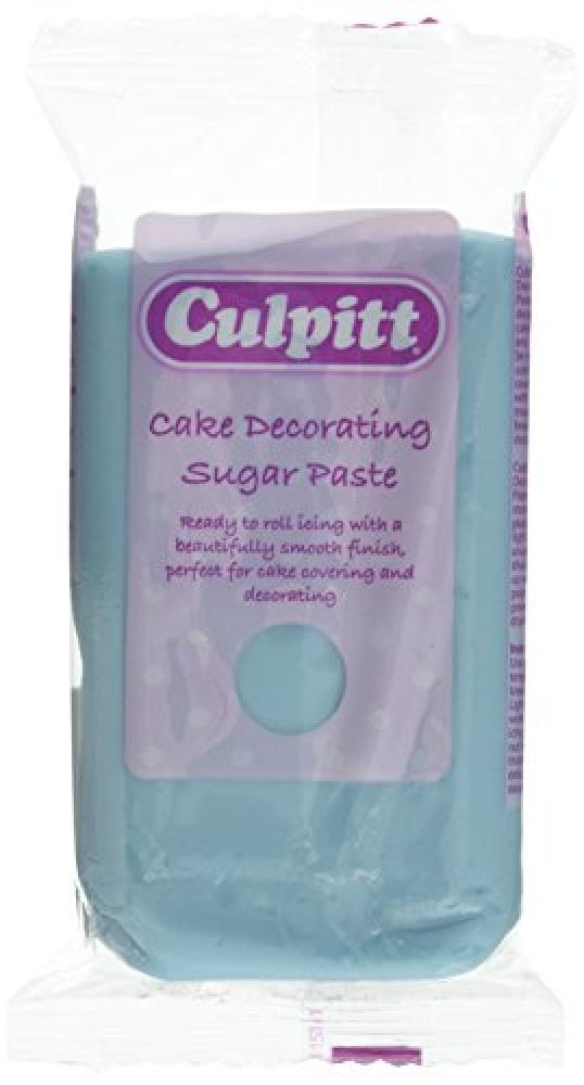 Culpitt Light Blue Cake Decorating Sugar Paste 250g