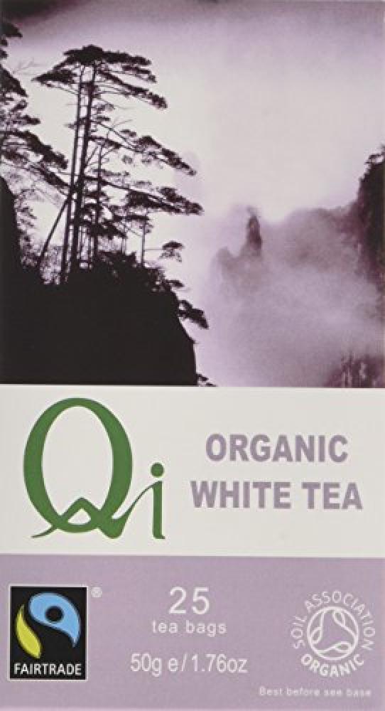 Qi Organic White 25 Teabags
