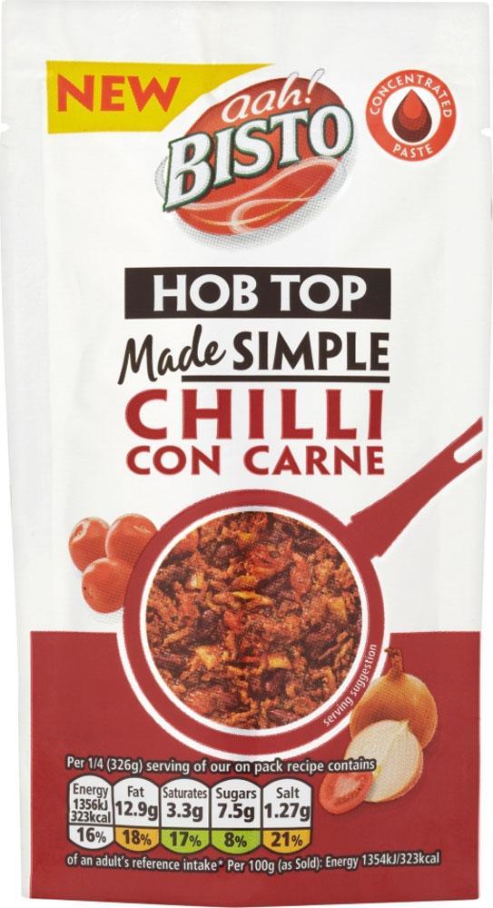 Bisto Hob Top Made Simple Chilli Con Carne 55g