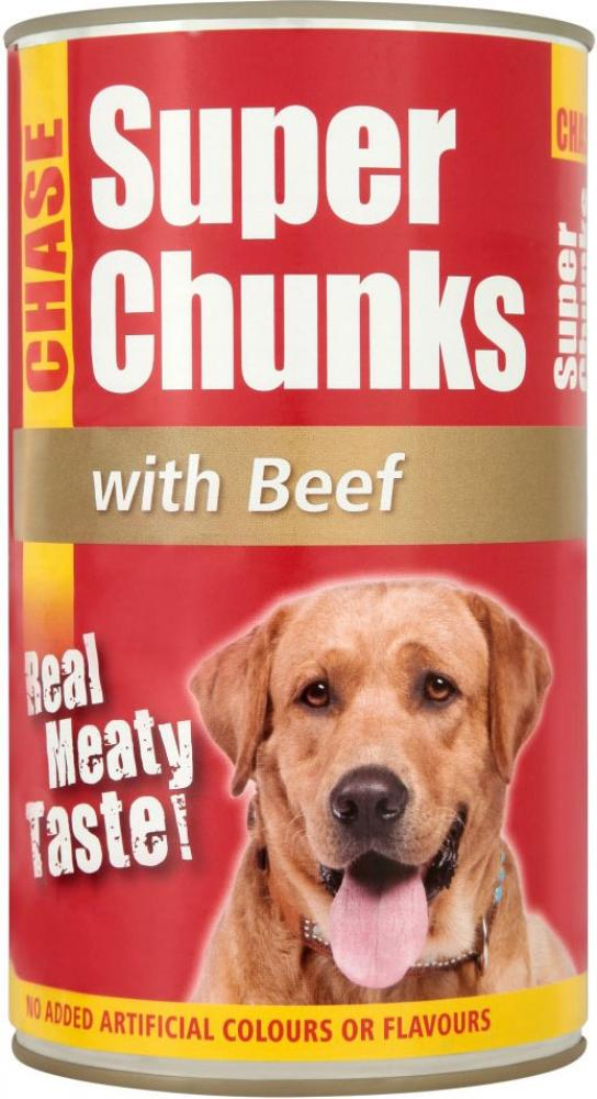Chase Super Chunks with Beef 1.225kg