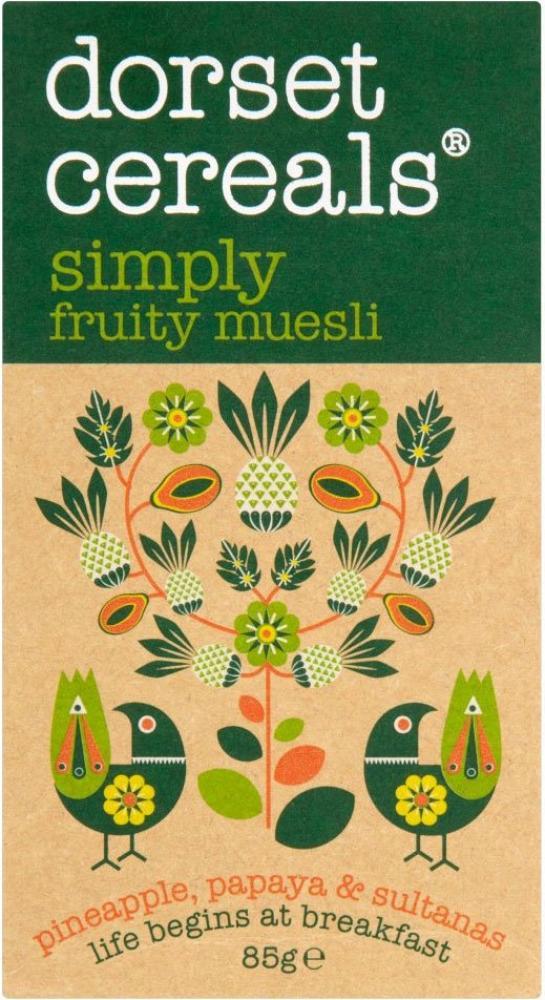 Dorset Cereals Simply Fruity Muesli 85g