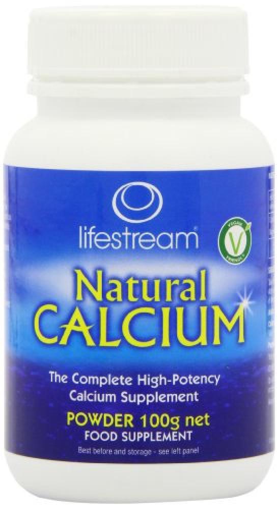 Lifestream Natural Calcium Powder 100 g