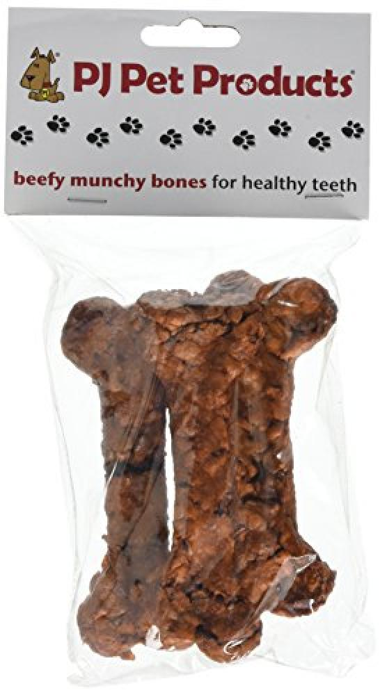 PJ Pet Products Beefy Munchy Bones 80g