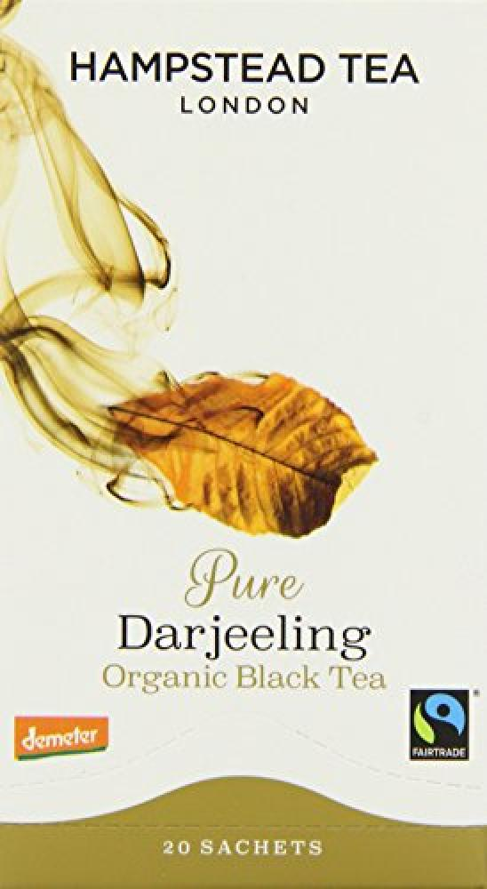 Hampstead Tea Organic Pure Darjeeling 20 Teabags