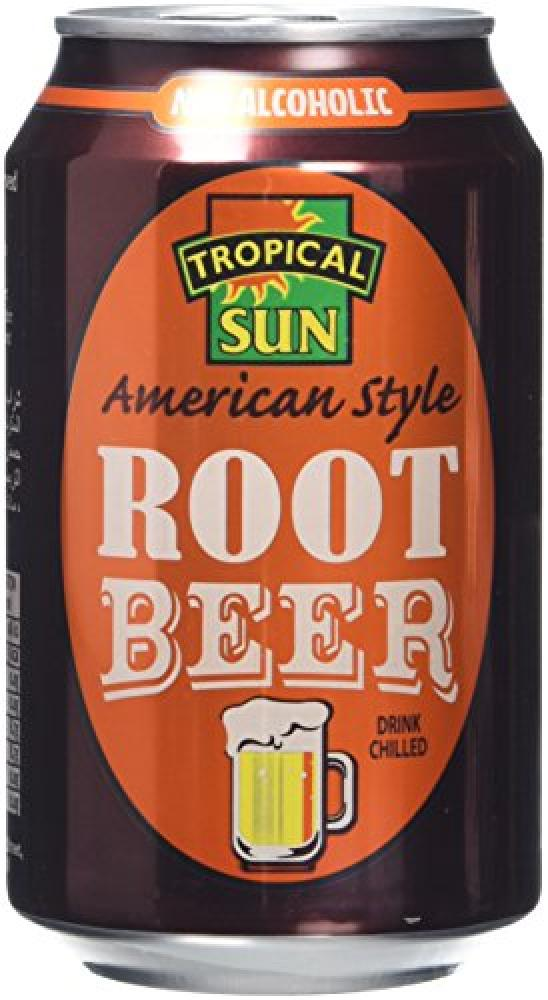 Tropical Sun Root Beer Can 330ml