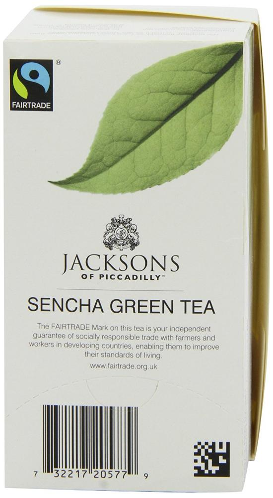 Jacksons Of Piccadilly Sencha Green Teabags