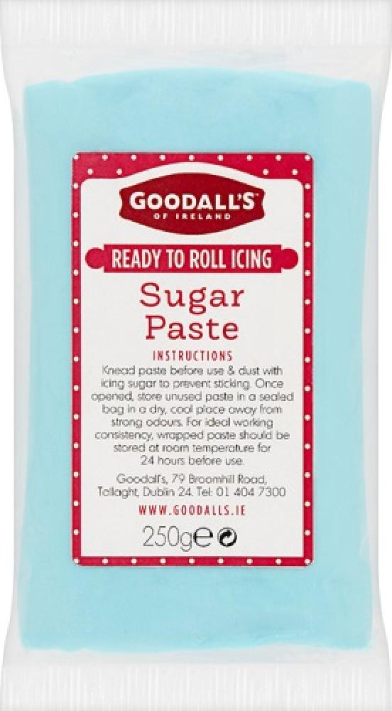 Goodalls Ready To Roll Icing - Blue Sugar Paste 250g