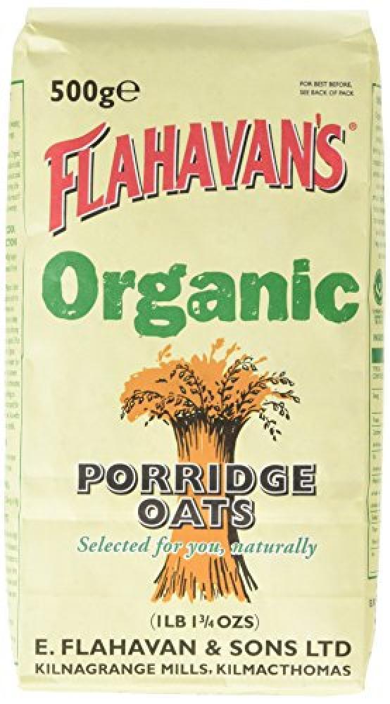 Flahavans Org Porridge Oats 500 g