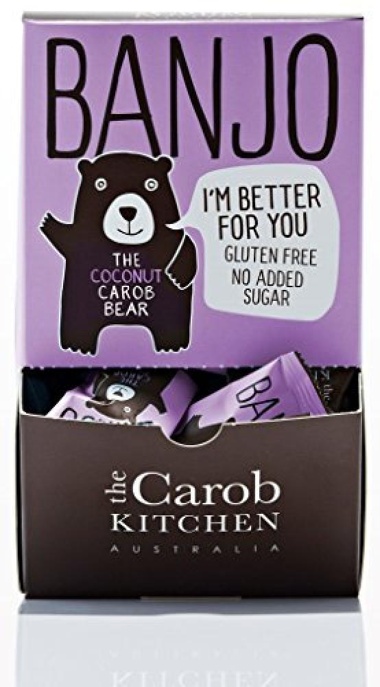 The Carob Kitchen Banjo Bear Coconut 15g