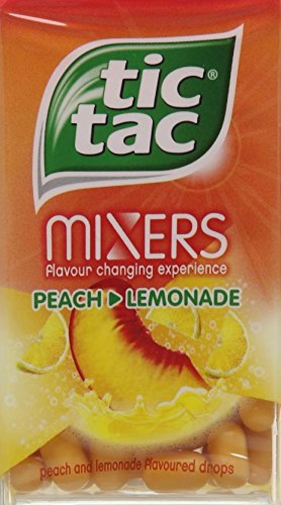 Tic Tac Mixers Peach Lemonade 49g
