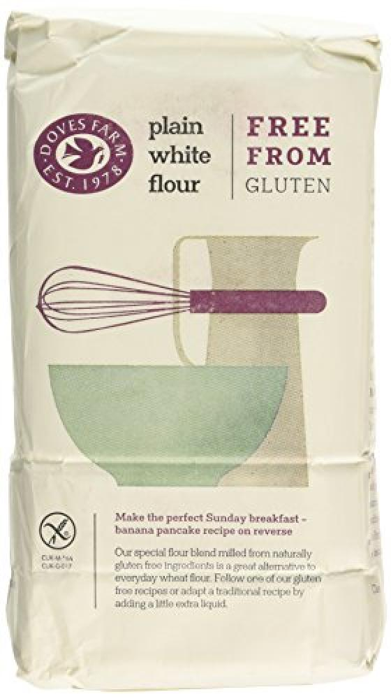 Doves Farm Gluten Free Plain White Flour 1 kg